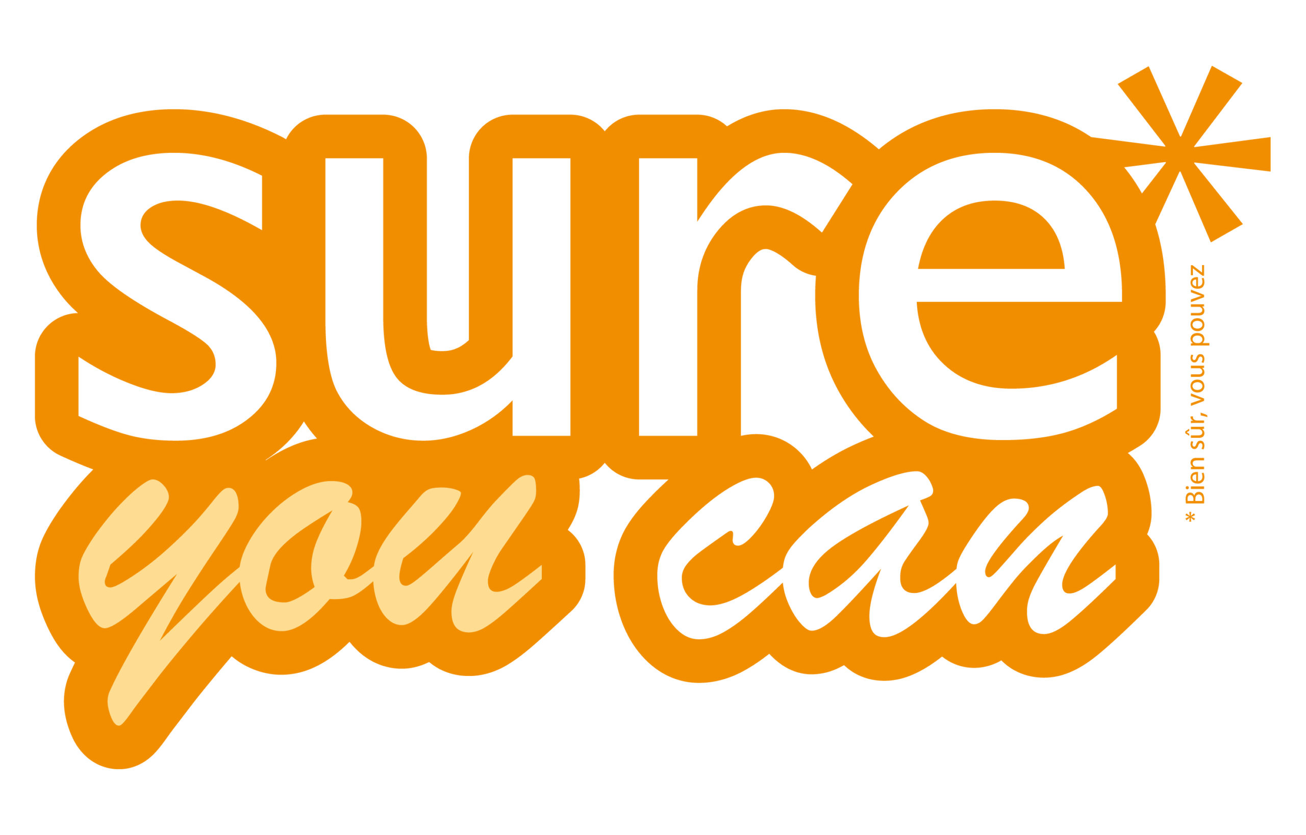 Logo sur you can pour la campagne TNT Express