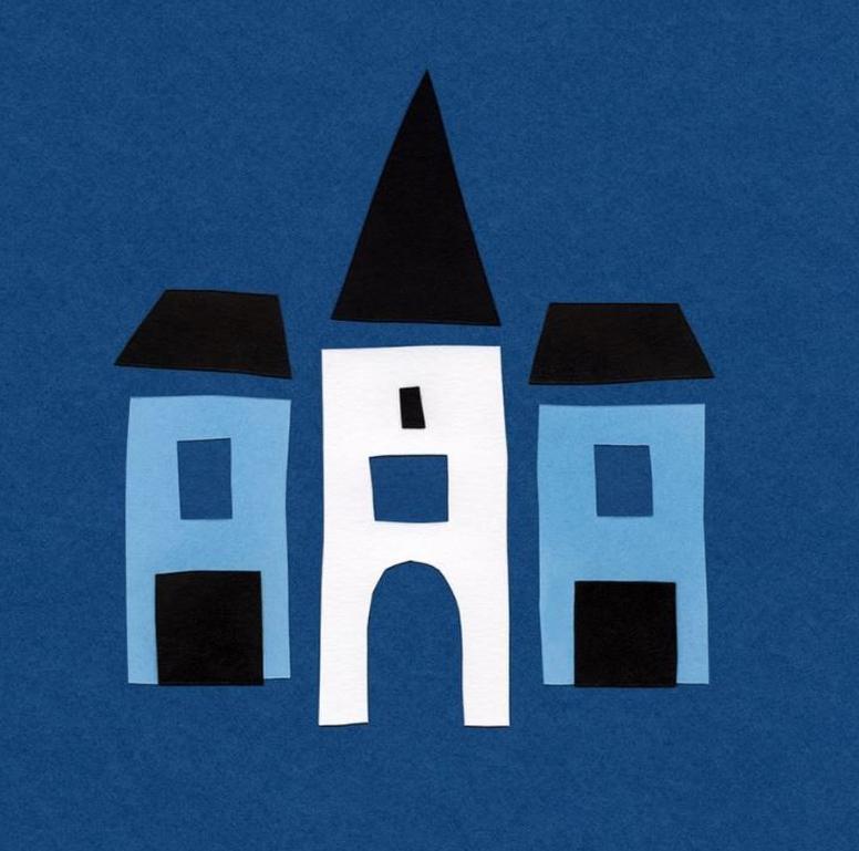 Logo avec maisons du Colorama Street Art Festival 2020