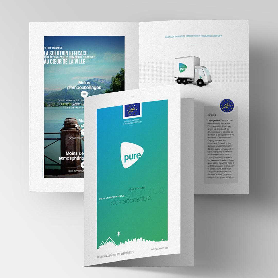Brochure de présentation des offres PURE