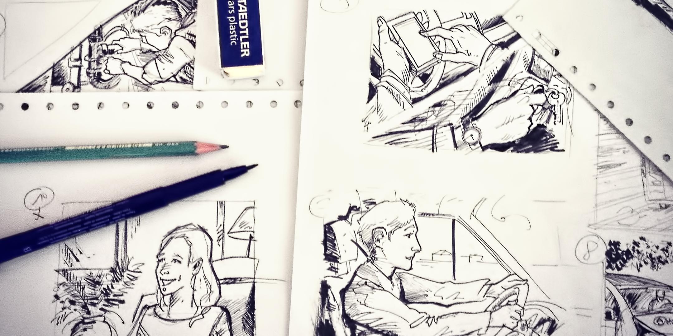 Storyboard film corporate Homeserve