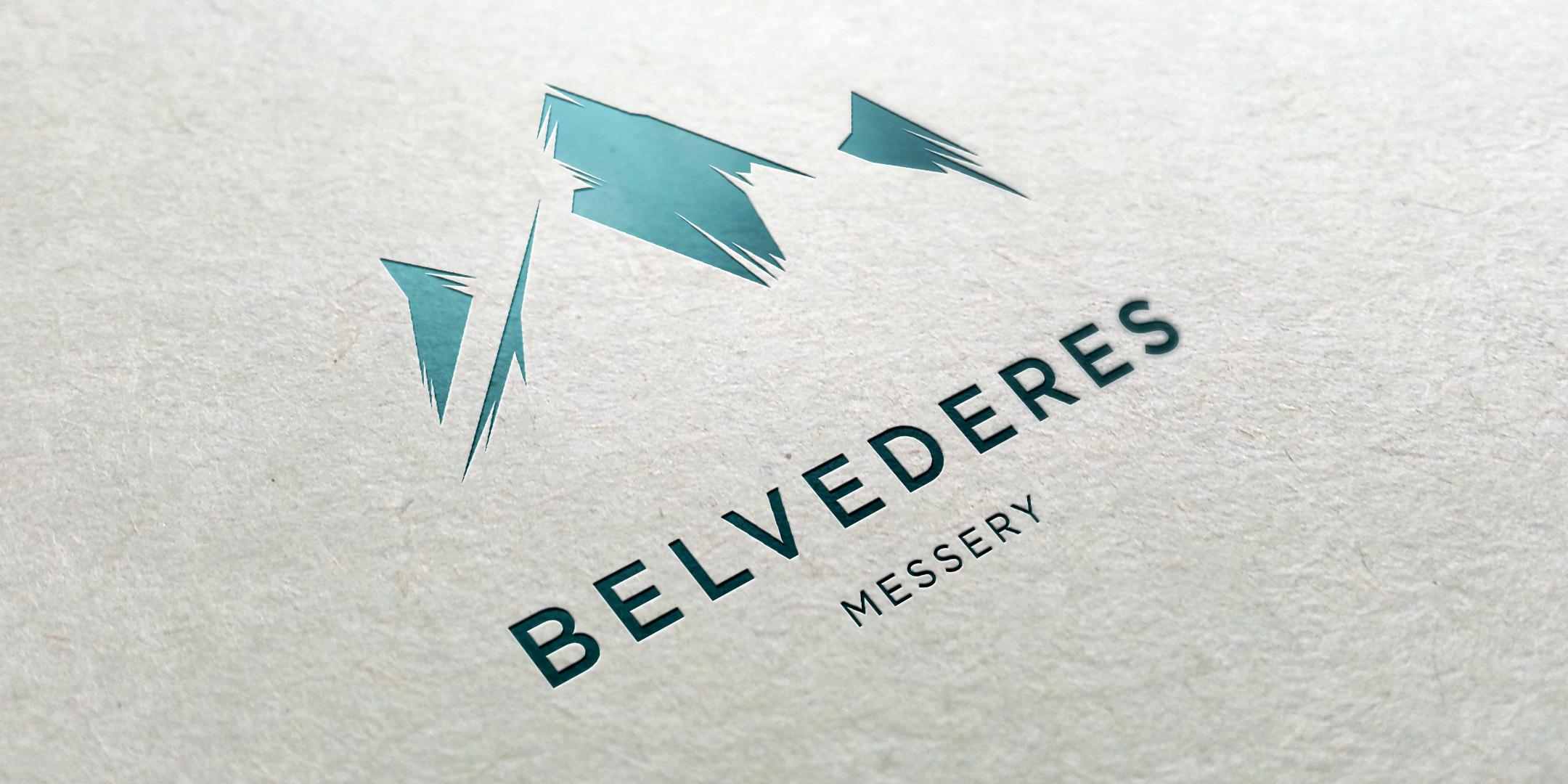 Logotype du programme immobilier Belvédères