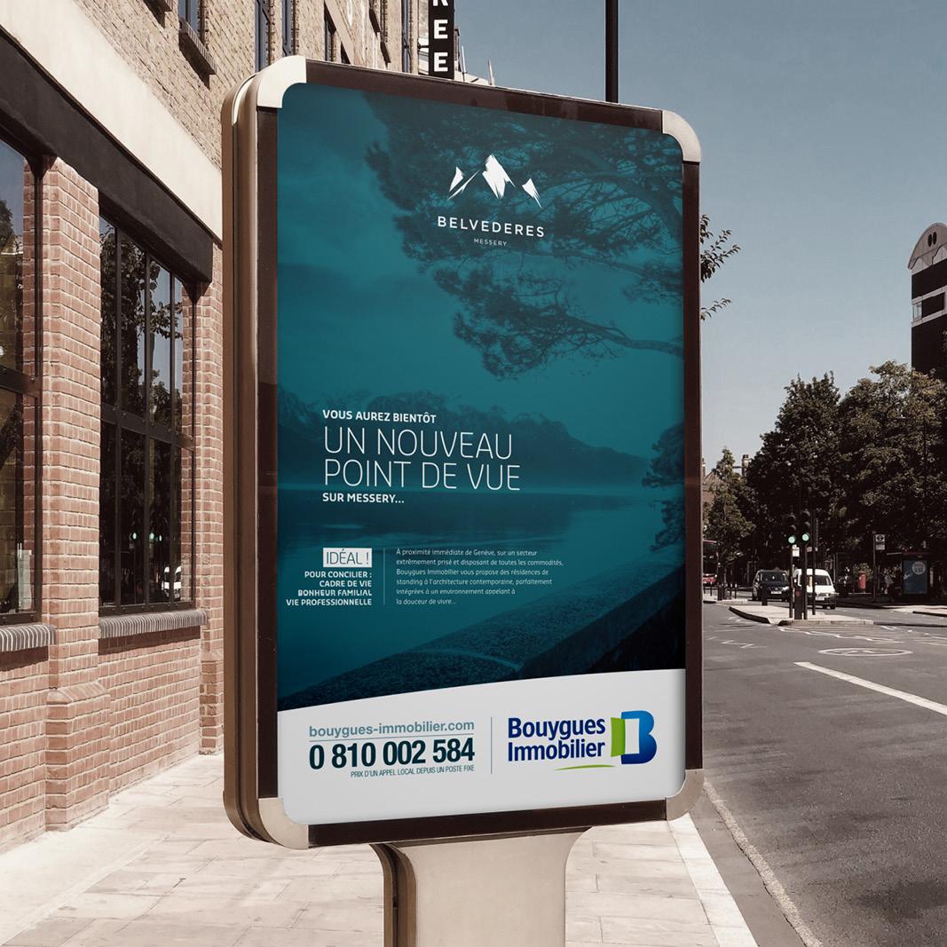 Campagne d'affichagepour la commercialisation du programme immobilier
