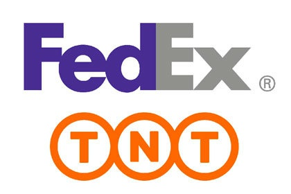 Logotypes TNT Express et Fedex