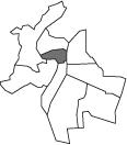 Carte stylisée de la ville de Lyon
