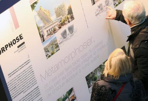 Organisation événementielle des réunions publiques pour Bouygues immobilier dans le cadre de la réhabilitation des thermes d'Aix les bains