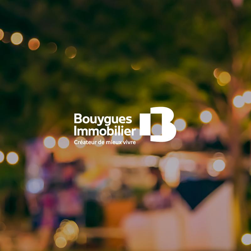 Personne participant à une soirée organisée par Bouygues Immobilier dans les jardins partagés d'une résidence