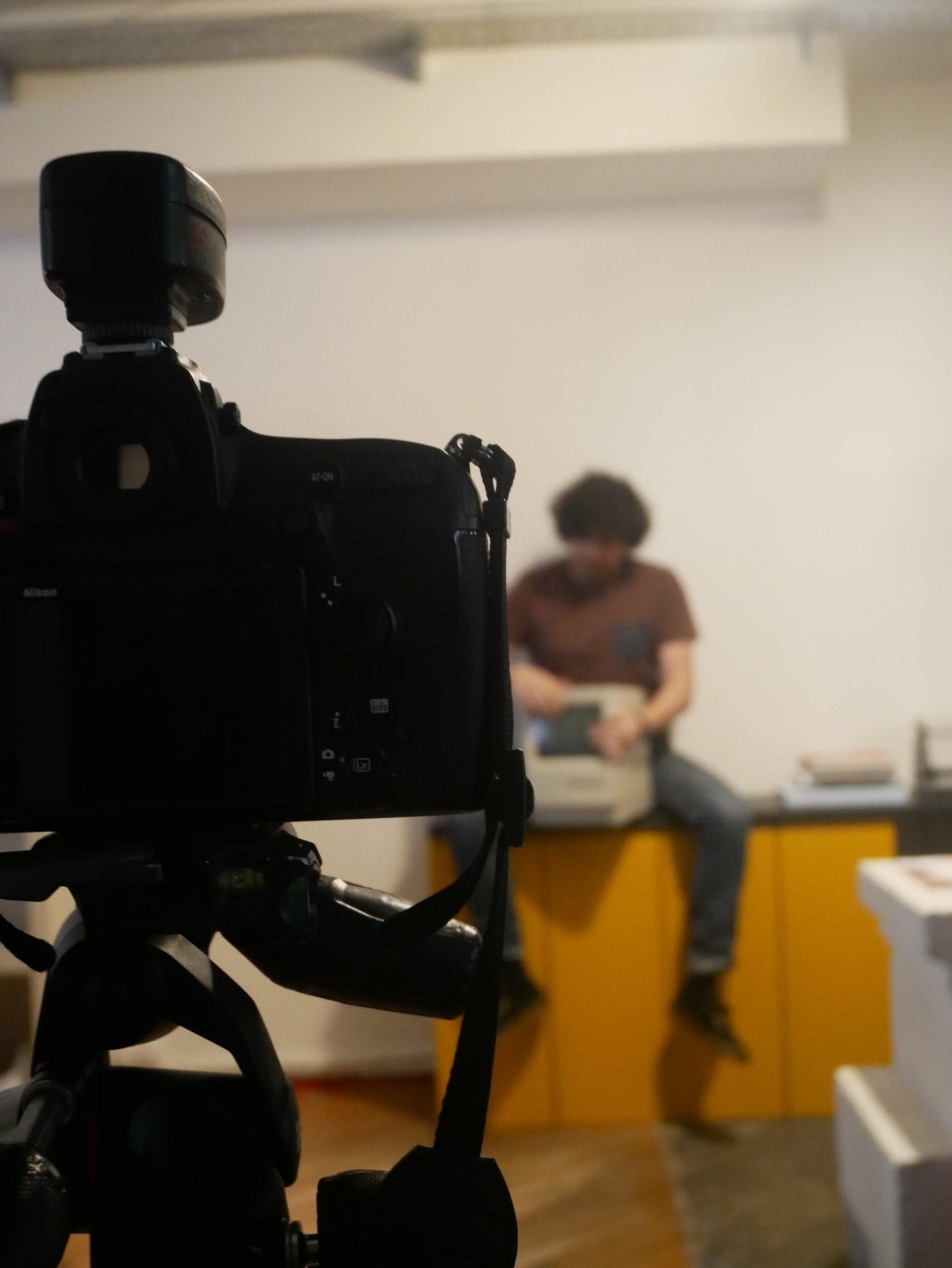 Coulisses du shooting photos de l'agence DBAB