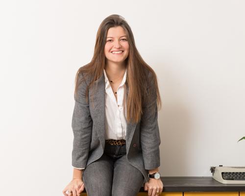 Le portrait de Solène notre cheffe de projet