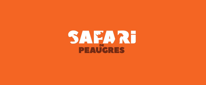 Réalisation du logotype du Safari Parc de Peaugres