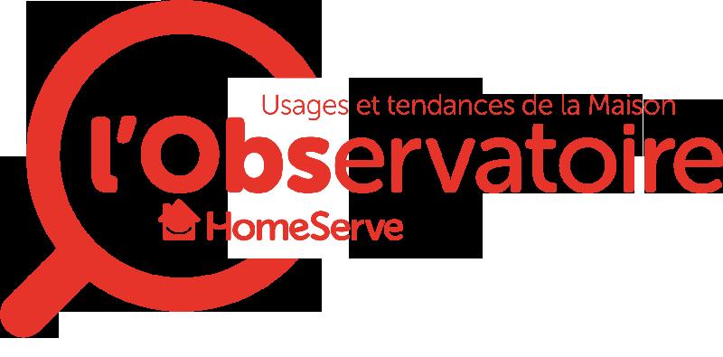 Logotype créé pour L'observatoire Homeserve décryptant les usages et tendances de la Maison