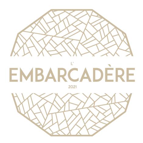 Logotype et naming du projet immobilier l'Embarcadère