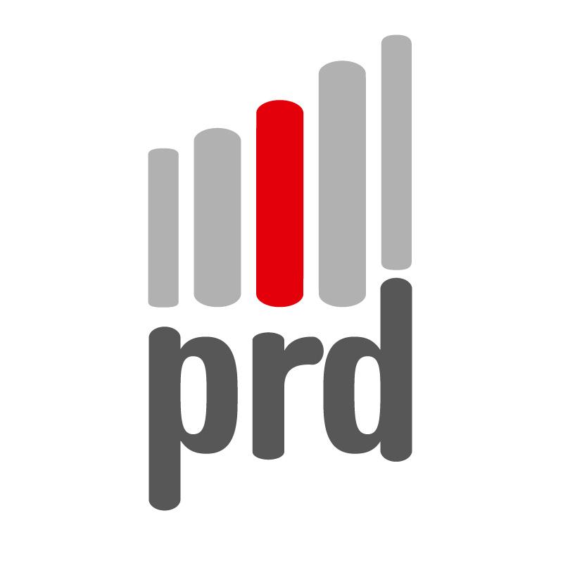 Logo PRD seul sur fond blanc