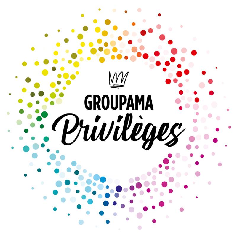 Logo du programme de fidélité Groupama Privilèges 2020