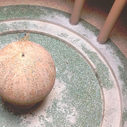 Photographie des anciennes Thermes d'Aix les bains