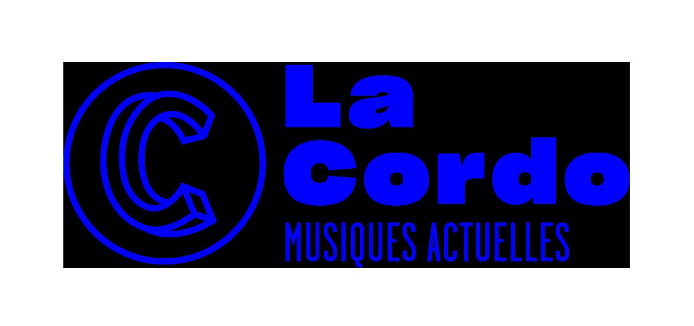 Logo de la cordo et Musiques actuelles sur fond blanc