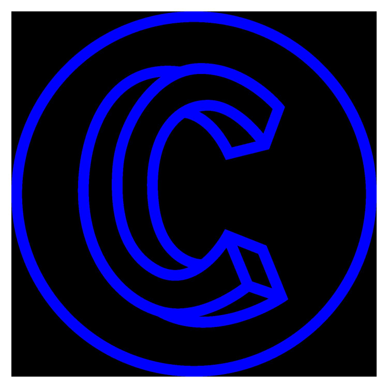 Logo de la cordo : C géant dans un rond de couleur bleu