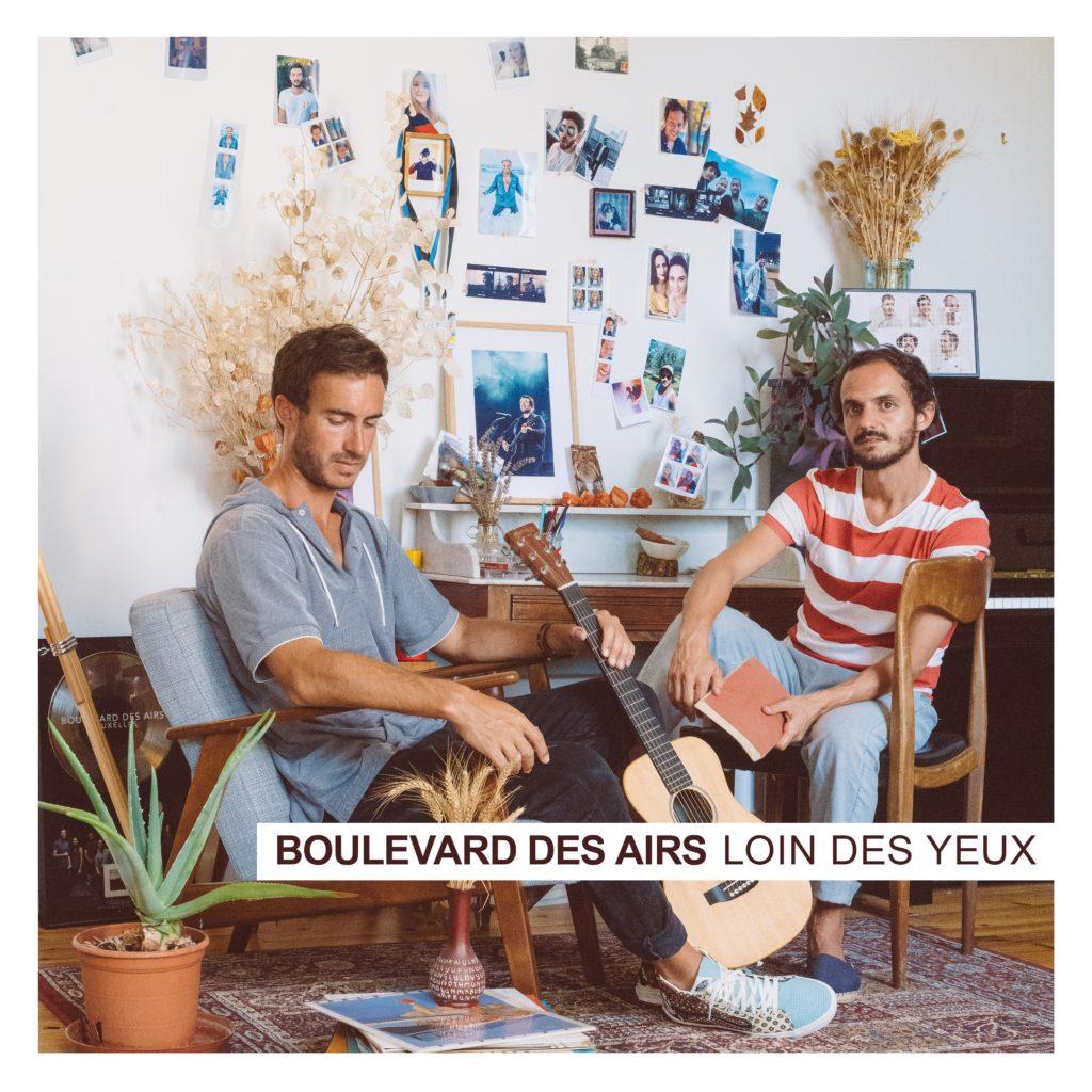 Visuel de la pochette du nouvel album de Boulevard des Airs